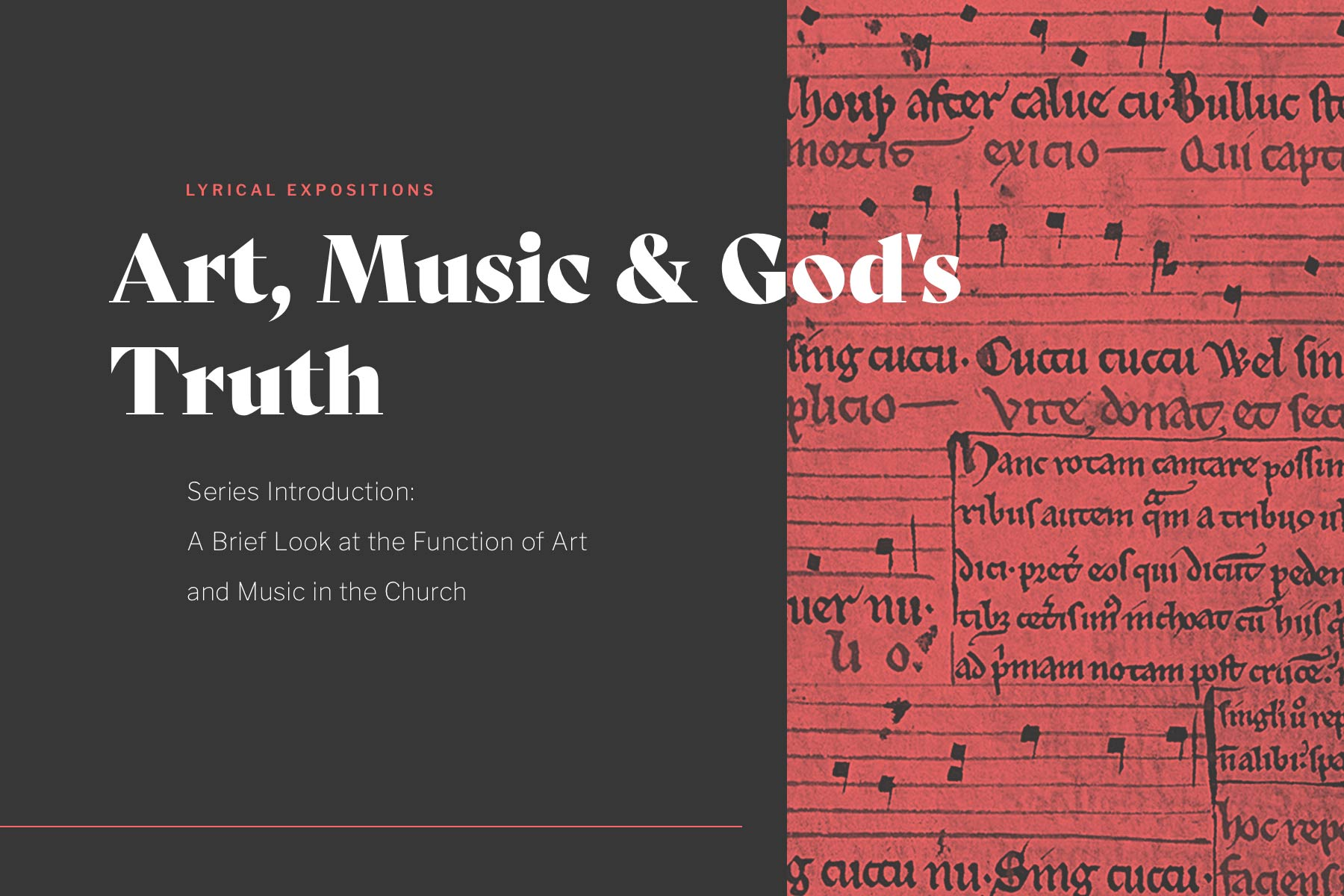 hymn Christian music exposition article series cover img alt