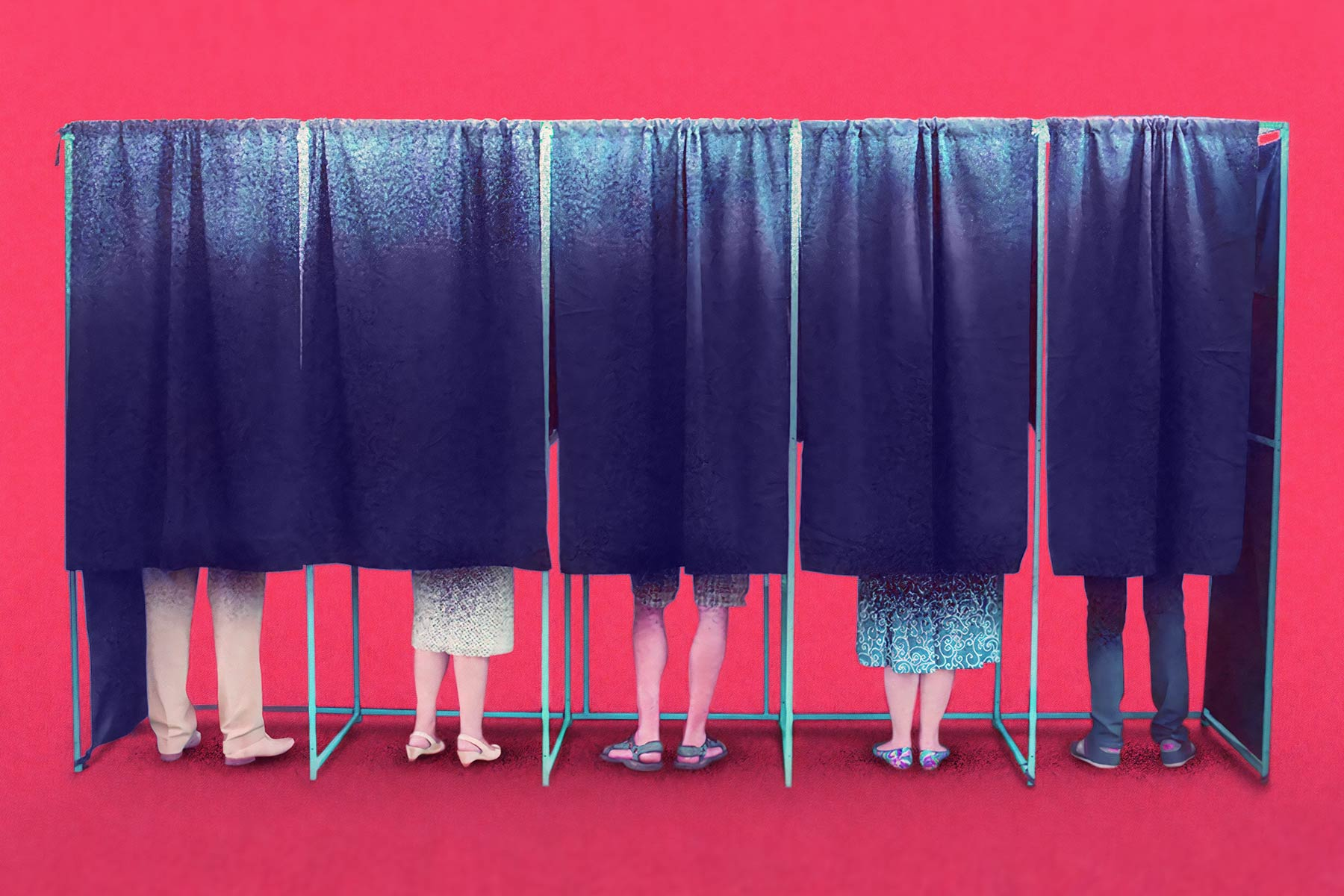 how Christians should vote people at voting booths cover img